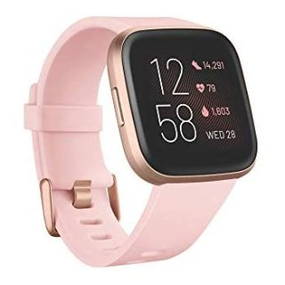 $199.95Fitbit Versa 2 Health & Fitness Smartwatch with Heart Rate, Music, Alexa Built-in, Sleep & Swim Tracking