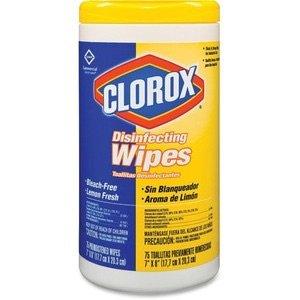 $5.68Clorox 消毒湿巾 75片装补货