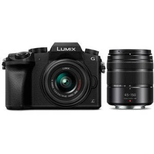 $497.99 4K入门机Panasonic Lumix DMC-G7 + 14-42mm OIS + 45-150mm 镜头