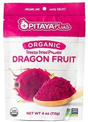 Amazon.com : Pitaya Plus, Organic Freeze Dried Red Dragon Fruit Powder, USDA and Oregon Tilth Certified Organic (8oz) : Grocery & Gourmet Food