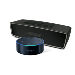 $194.99Bose SoundLink Mini II 无线蓝牙音箱 + Amazon 智能管家Echo Dot 套装