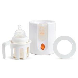 史低价:Munchkin 90秒快速奶瓶加热器,Amazon同款$22+