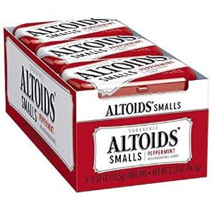Altoids 无糖薄荷糖 随身包 0.37盎司 9盒