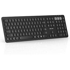 $14.99Jelly Comb 多设备切换 蓝牙+2.4GHz 可充电无线键盘