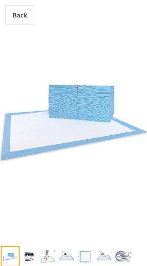 Amazon.com : AKC Training Pads, 100-Pack : Pet Training Pads : Pet Supplies隔尿垫
