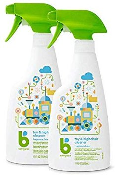 Amazon.com: Babyganics Toy & Highchair Cleaner Spray, 17oz, 2 pack, Packaging May Vary: Health & Personal Care