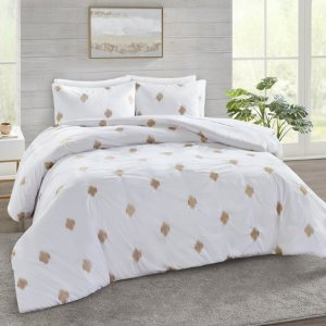 $22.74Better Homes and Garden Embroidered Golden Dots Comforter Bedding Set