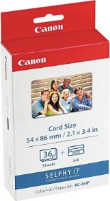 Canon Color Ink and Paper Set (KC36IP)