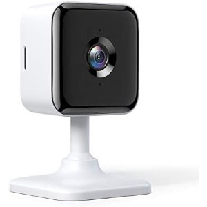 Teckin 1080P 全高清室内有线安保摄像头, 夜视仪+双向通话