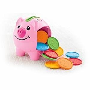 Amazon.com: Fisher-Price Laugh & Learn Smart Stages Piggy Bank [Amazon Exclusive]: Toys & Games