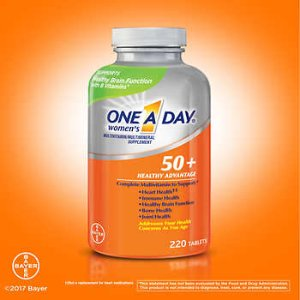 One A Day Women's 50+ Multivitamin, 220 Tablets