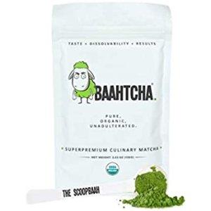 Baahtcha - USDA Organic Matcha Green Tea Powder