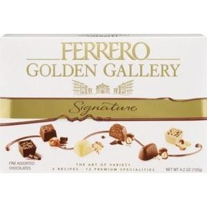 Ferrero Golden Gallery Signature Fine Assorted Chocolates, 4.2 OZ, 12 CT (with Photos, Prices & Reviews) - CVS Pharmacy 巧克力买一送一