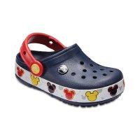 Crocs Crocband Mickey 米奇闪灯鞋 另有粉色米妮款