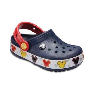 $26.99Crocs Kids' Crocband™ Mickey™ Fun Lab Lights Clogs