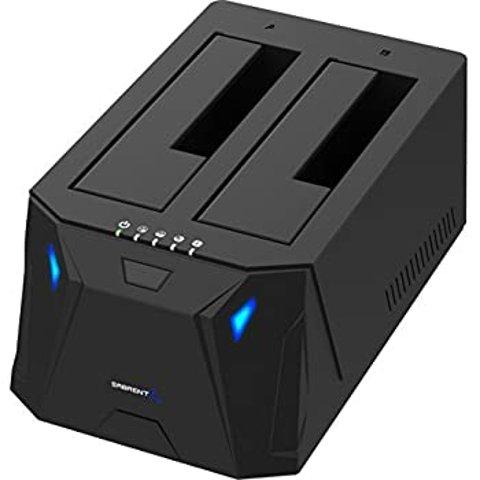 Sabrent USB 3.0 to SATA I/II/III Dual Bay Hard Drive Docking