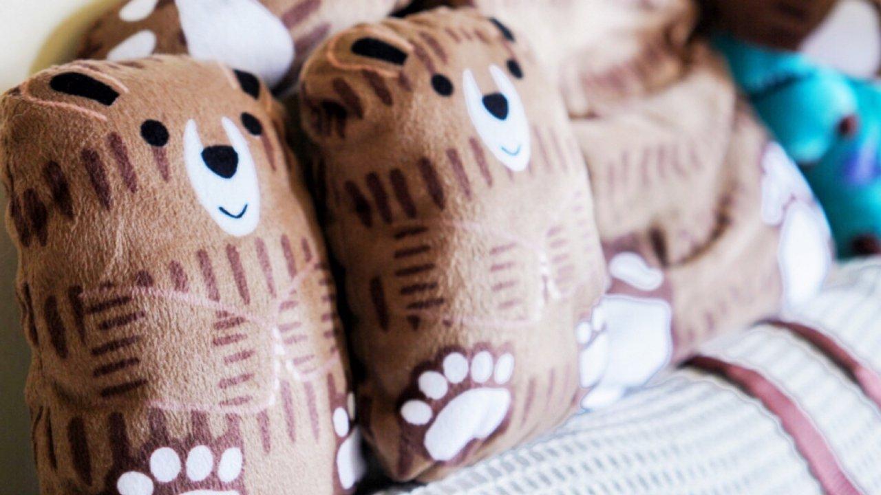 给小朋友动手做不一样的礼物—萌萌哒小熊🐻背包