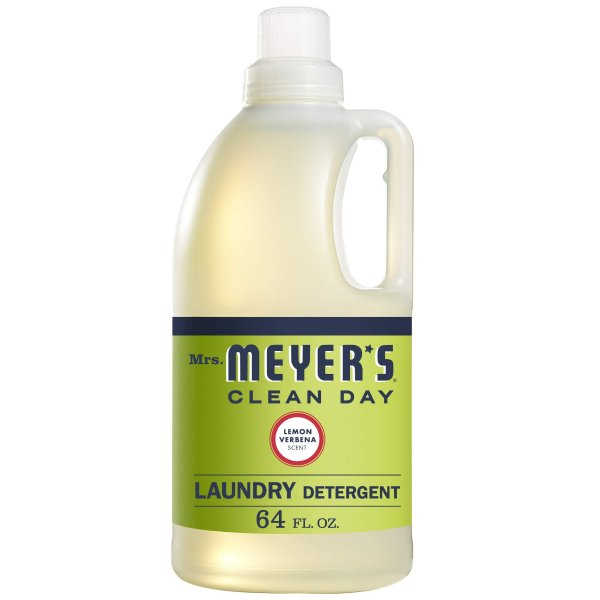 Mrs. Meyer's 洗衣液柠檬马鞭草香味 64oz
