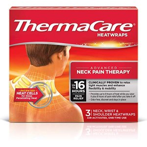 Amazon.com: ThermaCare Air-Activated Heat Wraps, Neck pain therapy: Gateway