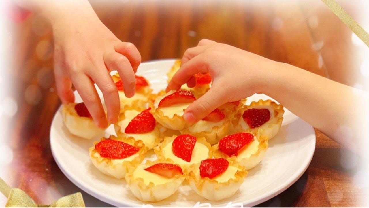 大家都要抢着吃的:水果芝士脆皮挞
