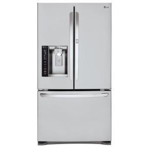 $1487LG 26.6立方尺 法式门 三门带饮水制冰 不锈钢 展示门冰箱