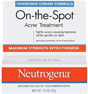 Amazon.com : Neutrogena On-The-Spot Acne Treatment Vanishing Cream Formula 0.75 oz (Pack of 2) : Nutritional Supplements And Vitamins : Beauty