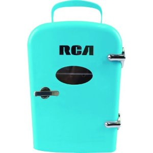 $29.95RCA 便携式迷你复古小冰箱