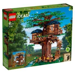 LEGO Ideas系列 树屋 21318,春华秋实的写意体验