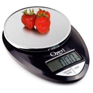 Ozeri Pro Digital Kitchen Food Scale, 0.05 oz to 12 lbs (1 gram to 5.4 kg) - Walmart.com