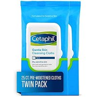 Cetaphil 温和肌肤轻柔清洁面布 50片