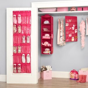 Mainstays Kids 4-Piece Complete Closet Organizer Set