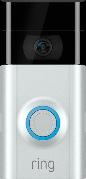 Ring Video Doorbell 2 Satin Nickel 8VR1S7-0EN0/88-0201-NC-USA - Best Buy