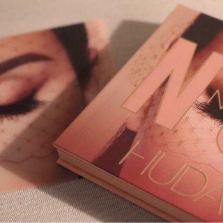 高级少女感|大热Huda Beauty Nude 眼影盘测评报告上线