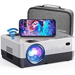 DBPOWER 7500L 1080p Video Projector with Carry Case