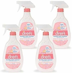 Amazon.com: Dreft Baby Laundry Instant Stain Remover Spray for Clothes, 22 Fluid Ounce (Pack of 4): Health & Personal Care