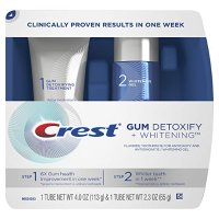 Crest 牙龈健康 +美白抛光牙膏两件套