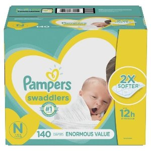 Pampers Swaddlers Disposable Diapers Enormous Pack - (Select Size) : Target