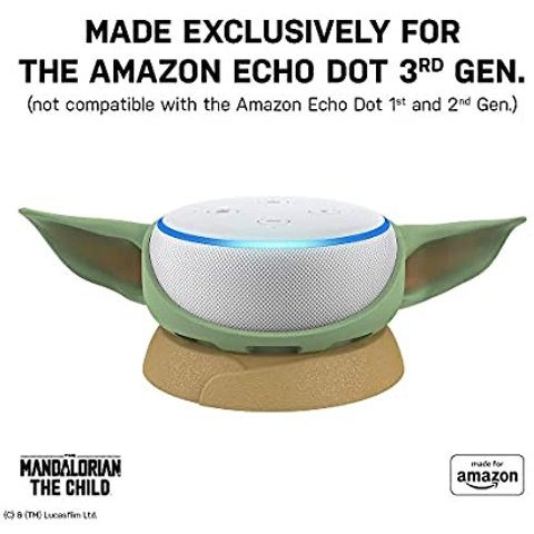 $24.95The Mandalorian: The Child, Stand for Amazon Echo Dot (3rd Gen)