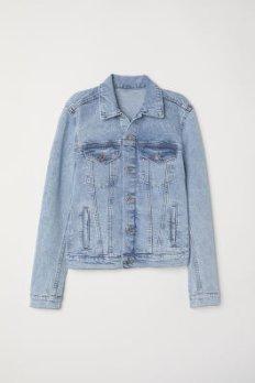 Denim Jacket - Denim blue/trashed - Ladies | H&M US