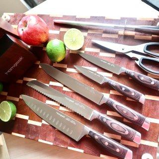 拥有一套Homgreek好刀让你爱上下厨房
