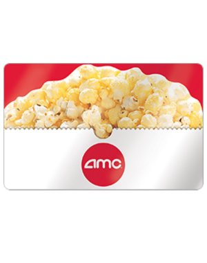 $40AMC Theaters Gift Card $50 Value Saving