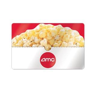 仅$40 变相8折AMC电影院面值$50实体礼卡特惠