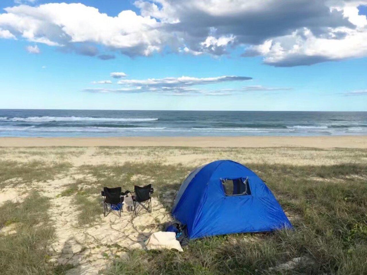澳洲露营,你可以拥有整片海滩