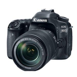 EOS 80D + EF-S 18-135mm f / 3.5-5.6 IS USM Kit Refurbished