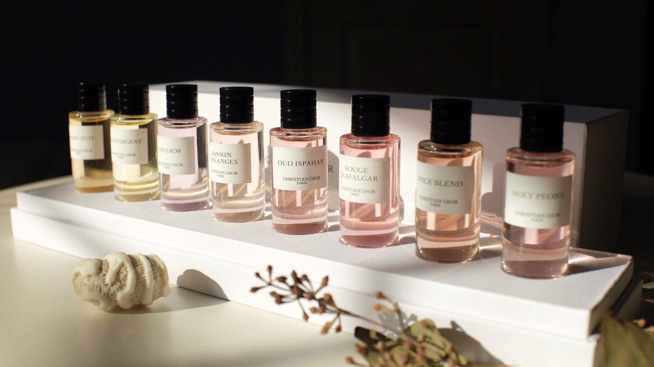 大牌沙龙香的试香之旅 一 Dior典藏系列香水 2020版 礼盒