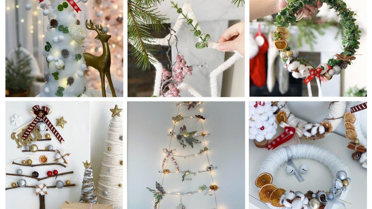 圣诞巧思手工DIY |蜗居也能拥有浪漫的圣诞树,为墙面妆点圣诞气氛(下篇)