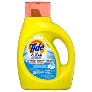 4件$8Walgreens 多款Tide、Downy洗衣用品热卖
