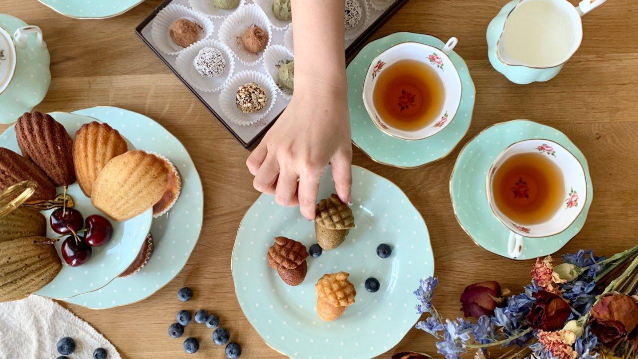 在家也可以來場法式下午茶🇫🇷瑪德蓮Madeleine超簡單(免打發食譜)