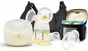 Amazon.com : Medela Sonata Smart Breast Pump, Hospital Performance Double Electric Breastpump, Rechargeable, Flex Breast Shields, Touch Screen Display, Connects to Mymedela App, Lactation Support : Baby