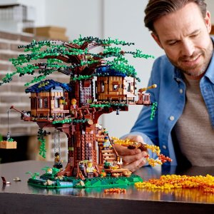 $169.99 降价+补货补货:LEGO Ideas系列树屋 21318 一眼看尽春花秋月